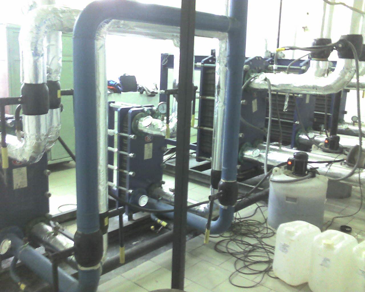 Агрегат для химочистки теплообменников теплообменник для корейского котла навьен
