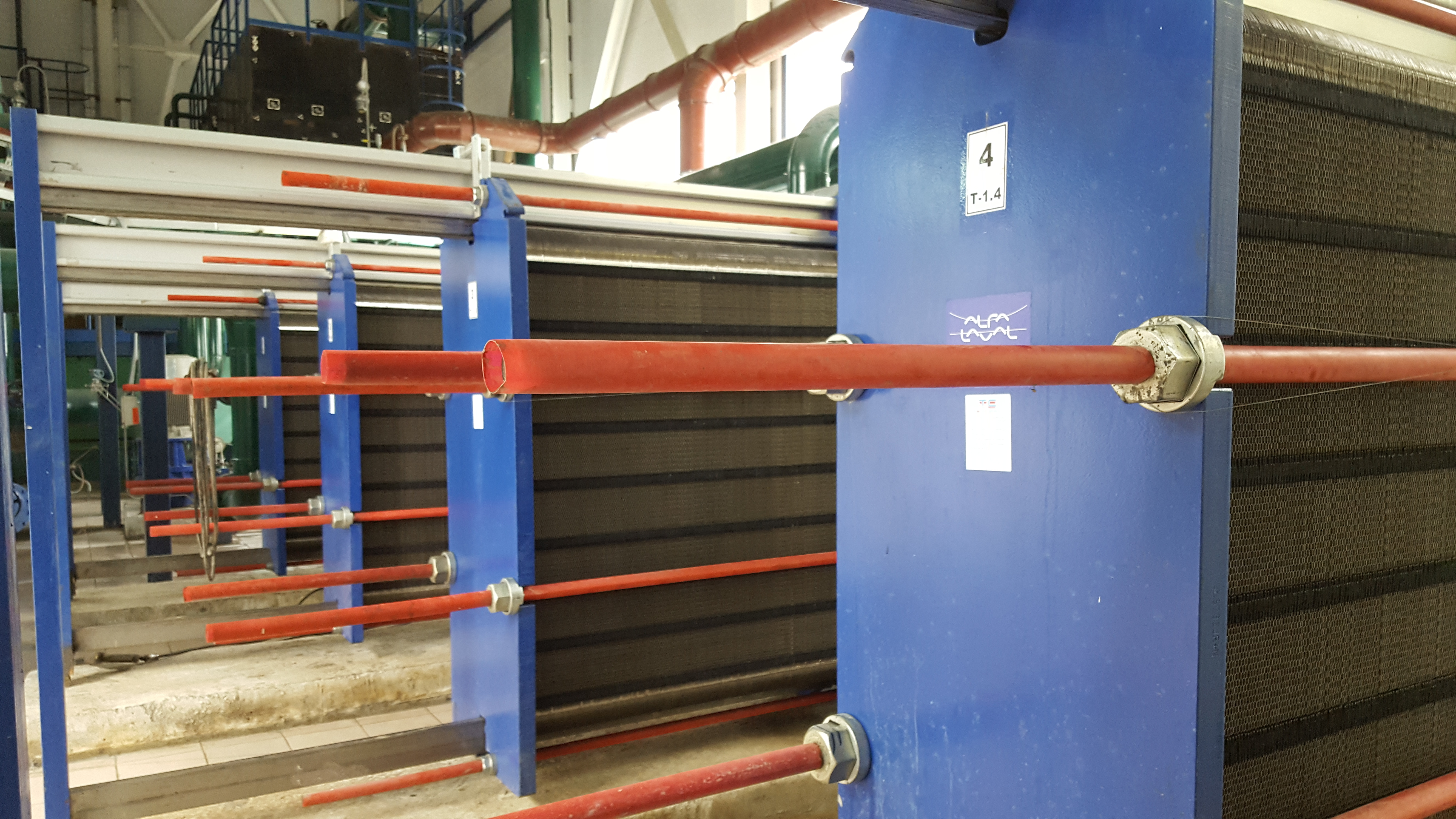 Теплообменник laval поставка шланги для промывки теплообменника