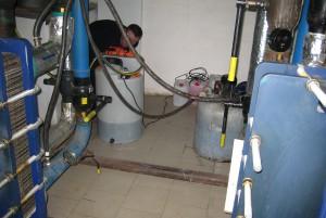 Безразборная химическая промывка теплообменников