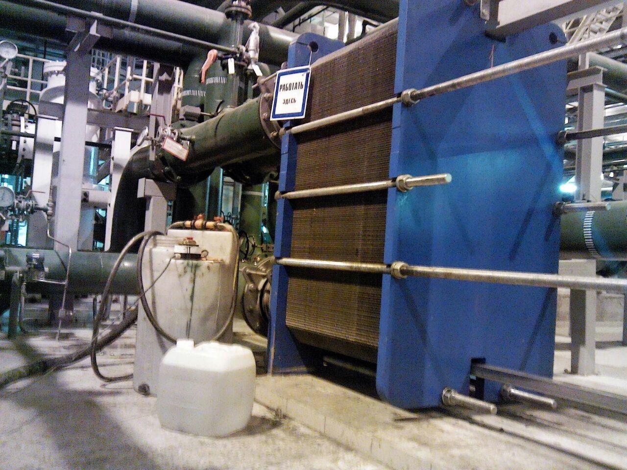 Безопасное обслуживание теплообменника Кожухотрубный испаритель WTK DBE 495 Липецк