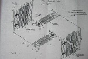 Схема движения воды в котле