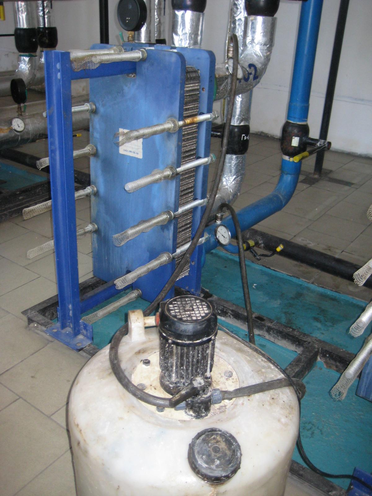 Системы для безразборной очистки теплообменников теплообменник напольные стандартный