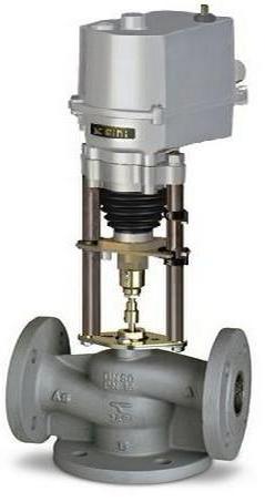 Клапаны регулирующие трёхходовые смесительные TRV-3