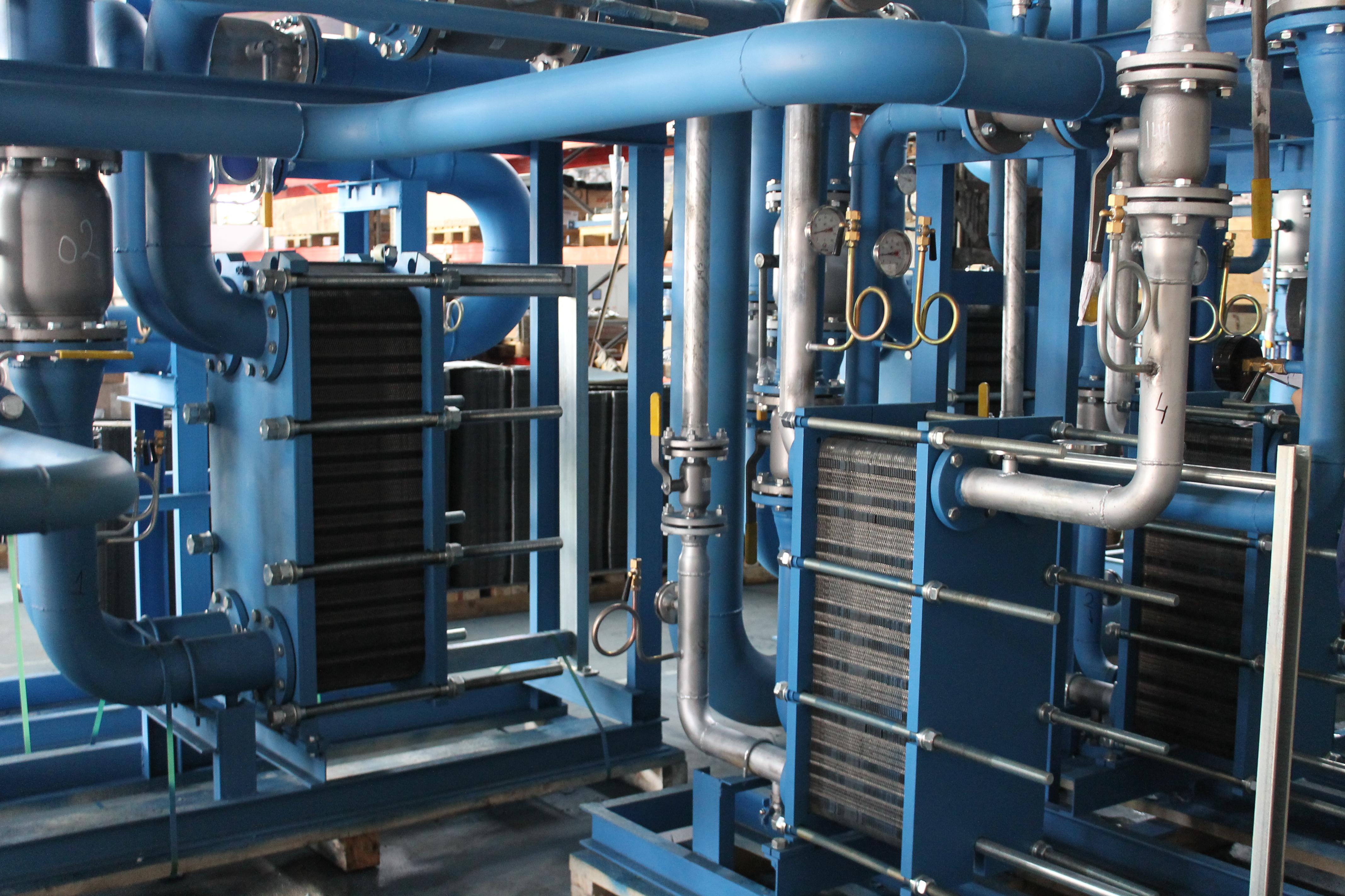 теплообменник системы отопления производительность